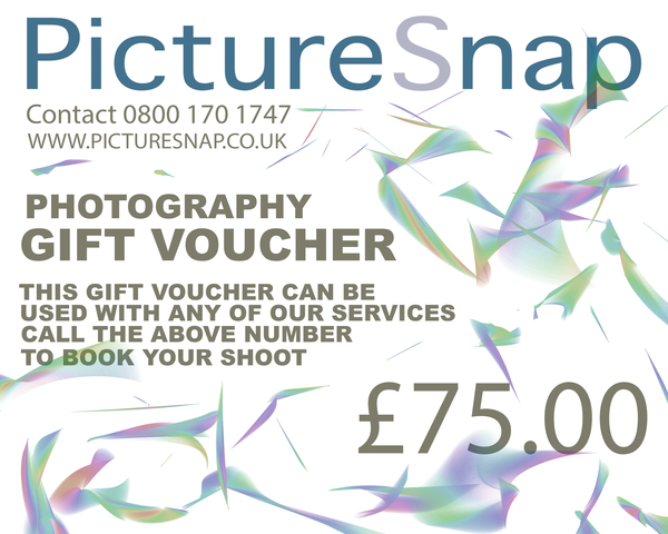 £75 picturesnap gift voucher