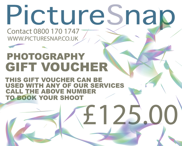 £125 gift voucher from picturesnap