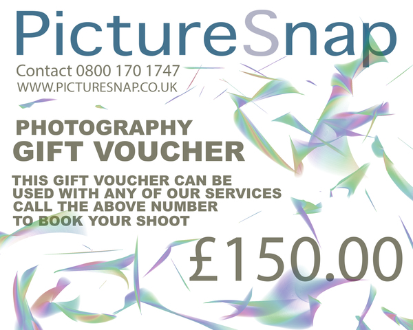 £150 Gift voucher from Picturesnap